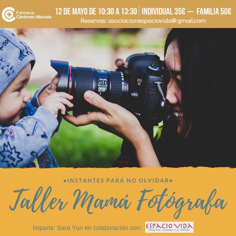 TALLER MAMÁ FOTÓGRAFA