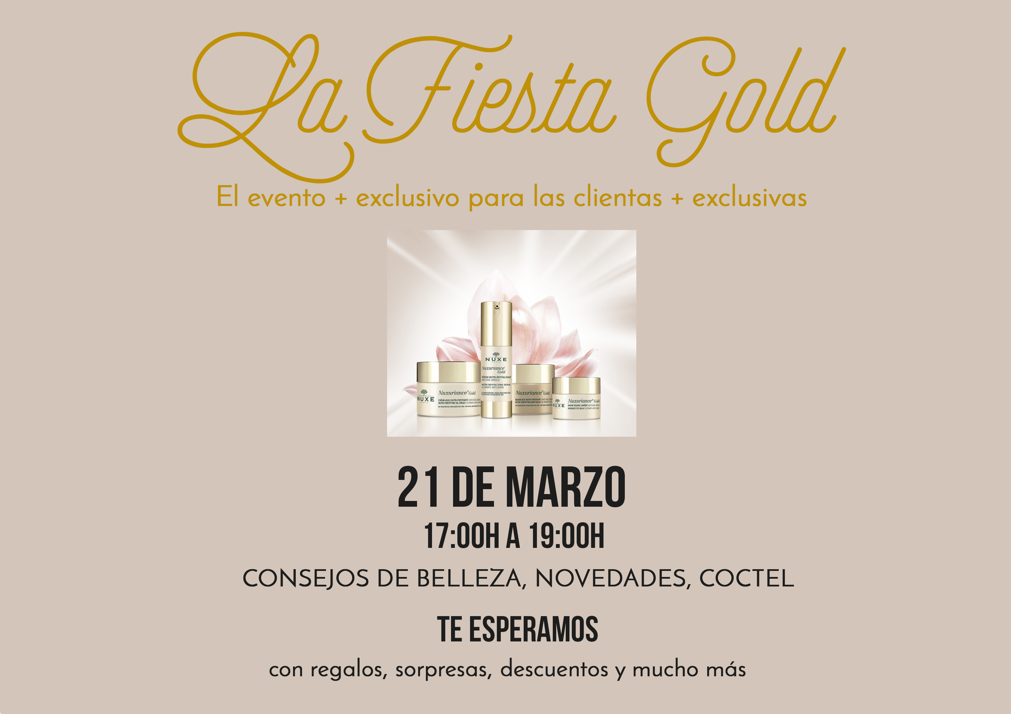 LA FIESTA GOLD DE NUXE